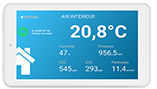 Tablette Eoletouch de diagnostic qualité air intérieur