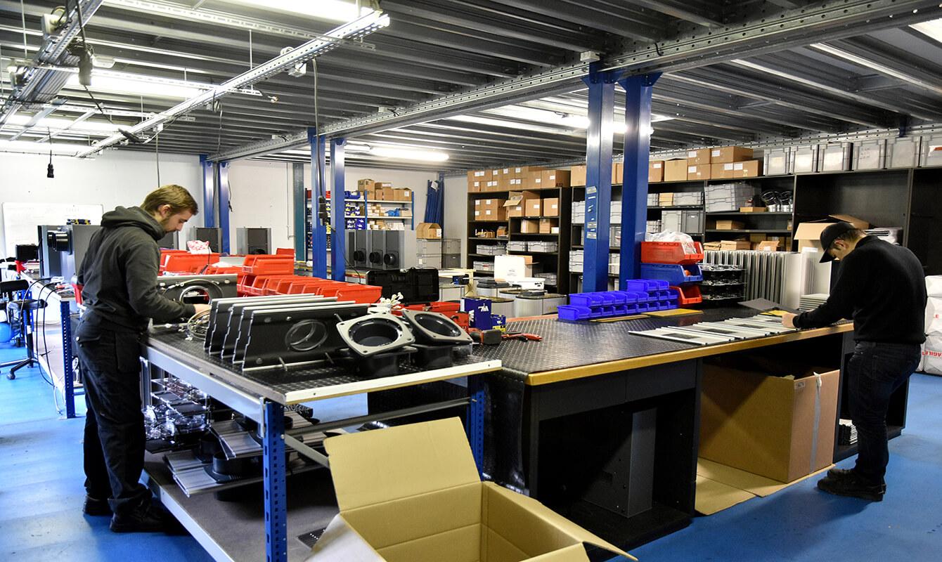 Atelier de fabrication Eoletec-Eolesens